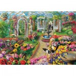 Puzzle  Art-Puzzle-5390 The Colors of Greenhouse