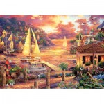 Puzzle  Art-Puzzle-5524 Chuck Pinson - Golden Sea