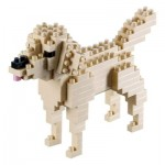 Brixies-58425 3D Nano Puzzle - Golden Retriever
