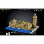 Brixies-58836 Nano 3D Puzzle - Limited Edition - Big Ben