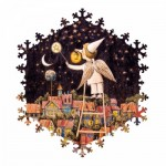 Wooden Puzzle - Starry Sky
