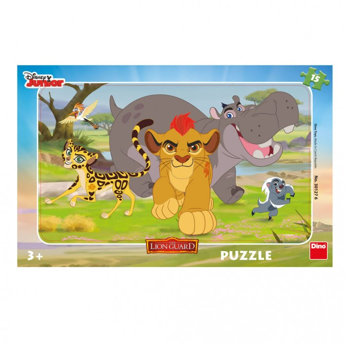 Rahmenpuzzle - Lion Guard