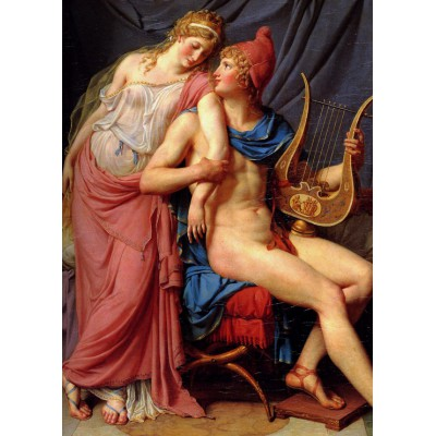 Puzzle Grafika-Kids-00367 Magnetische Teile - Jacques-Louis David: The Loves of Paris and Helen, 1788
