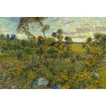 Puzzle  Grafika-Kids-00427 XXL Teile - Van Gogh: Sunset at Montmajour, 1888