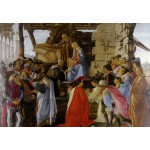 Puzzle  Grafika-Kids-00691 Sandro Botticelli: Adoration of the Magi (Zanobi Altar), 1475
