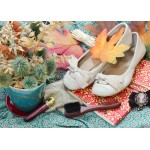 Puzzle  Grafika-Kids-01155 Magnetische Teile - Vintage Dancing Shoes