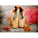 Puzzle  Grafika-Kids-01160 Vintage Dancing Shoes