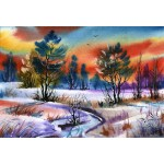 Puzzle  Grafika-Kids-01212 XXL Teile - Winter Water
