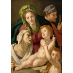 Puzzle  Grafika-Kids-01254 Agnolo Bronzino: The Holy Family, 1527/1528