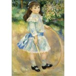 Puzzle  Grafika-Kids-01317 Auguste Renoir : Girl with a Hoop, 1885