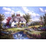 Puzzle  Grafika-Kids-01863 Dennis Lewan - Swan Creek Cottage