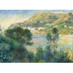 Puzzle  Grafika-Kids-02046 Auguste Renoir - View of Monte Carlo from Cap Martin