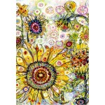 Puzzle  Grafika-Kids-02094 Sally Rich - Sunflowers