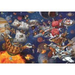 Puzzle  Grafika-Kids-02100 François Ruyer - Space Batttle