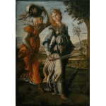Puzzle  Grafika-00188 Botticelli Sandro: The return of Judith to Bethulia, 1470
