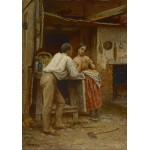 Puzzle  Grafika-00329 Jonathan Eastman Johnson: Southern Courtship, 1859