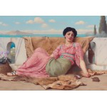Puzzle  Grafika-00366 John William Godward: The Quiet Pet, 1906