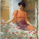 Puzzle  Grafika-00367 John William Godward: Summer Flowers, 1903