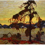 Puzzle  Grafika-00545 Tom Thomson: The Jack Pine, 1916