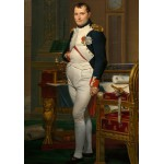 Puzzle  Grafika-01192 Jacques-Louis David: The Emperor Napoleon in his study at the Tuileries, 1812