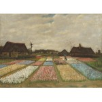 Puzzle  Grafika-01521 Vincent Van Gogh - Flower Beds in Holland, 1883