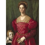 Puzzle  Grafika-01700 Agnolo Bronzino: A Young Woman and Her Little Boy, 1540