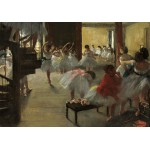 Puzzle  Grafika-01760 Edgar Degas: The Dance Class, 1873