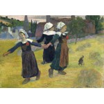 Puzzle  Grafika-01831 Paul Gauguin: Breton Girls Dancing, Pont-Aven, 1888