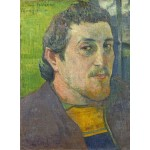 Puzzle  Grafika-01836 Paul Gauguin: Self-Portrait Dedicated to Carrière, 1888-1889