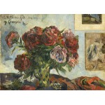 Puzzle  Grafika-01858 Paul Gauguin: Still Life with Peonies, 1884
