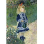 Puzzle  Grafika-01881 Auguste Renoir : A Girl with a Watering Can, 1876