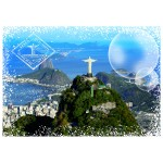 Puzzle  Grafika-02287 Travel around the World - Brasilien