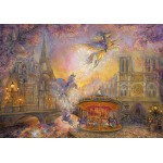 Puzzle  Grafika-02315 Josephine Wall - Magical Merry Go Round