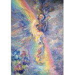 Puzzle  Grafika-02372 Josephine Wall - Iris, Keeper of the Rainbow