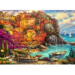 Puzzle  Grafika-02902 Chuck Pinson - A Beautiful Day at Cinque Terre