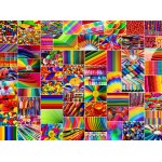 Puzzle  Grafika-02912 Collage - Farben