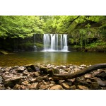 Puzzle  Grafika-02934 Sgwd Clun-Gwyn Waterfall near Neath