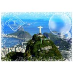 Puzzle  Grafika-T-00228 Travel around the World - Brasilien
