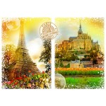Puzzle  Grafika-T-00242 Travel around the World - Frankreich
