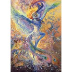 Puzzle  Grafika-T-00268 Josephine Wall - Blue Bird
