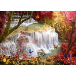 Puzzle  Grafika-T-00678 Deep Forest Waterfall