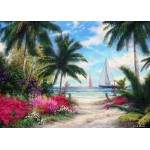 Puzzle  Grafika-T-00770 Chuck Pinson - Sea Breeze Trail
