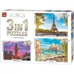 3 Puzzles - City Collection