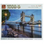Puzzle   City Collection at Night - Tower Bridge, London, England