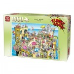 Puzzle  King-Puzzle-05226 Funny Comic Collection - Soft Rock Cafe