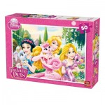 Puzzle  King-Puzzle-05314-A Disney Princess - Palace Pets