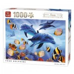 Puzzle  King-Puzzle-05666 Four Dolphins