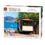 Puzzle  King-Puzzle-05720 Cable Cart Tram