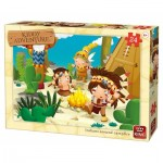 Puzzle  King-Puzzle-05790 Cow-Boys & Indians
