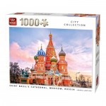 Puzzle  King-Puzzle-55848 Saint Basil's Cathedral Moscow